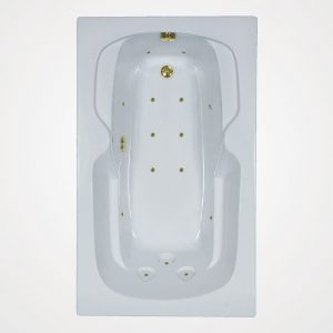 60 by 36 European massage Bath tub
