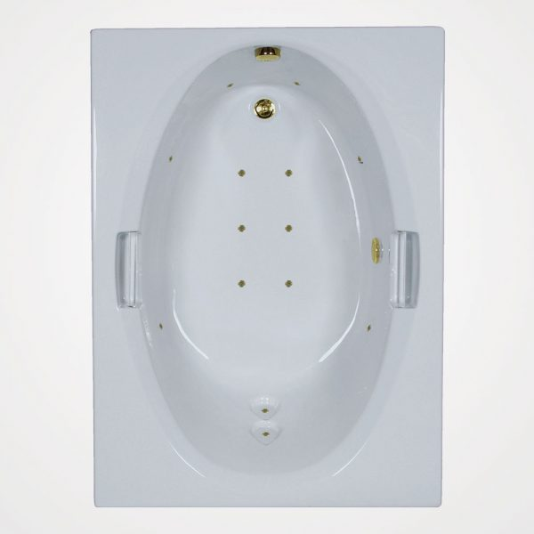 60 by 42 European massage Bath tub