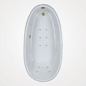 72 by 36 European massage Bath tub
