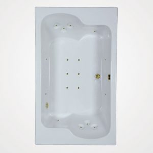 72 by 43 European massage Bath tub