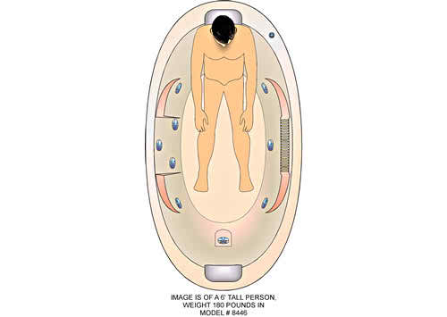 8446 Whirlpool Bathtub Watertech Whirlpools And