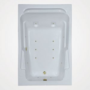 72 by 48 European massage Bath tub