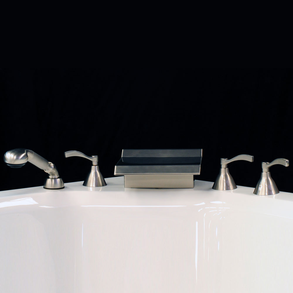 5 Piece Waterfall Faucet | Watertech Whirlpools and ...