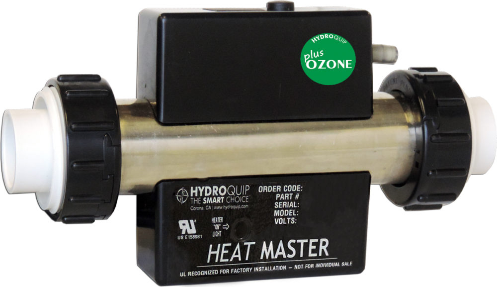 In-Line Bath Heater with Ozonater by Watertech Whirlpool ...