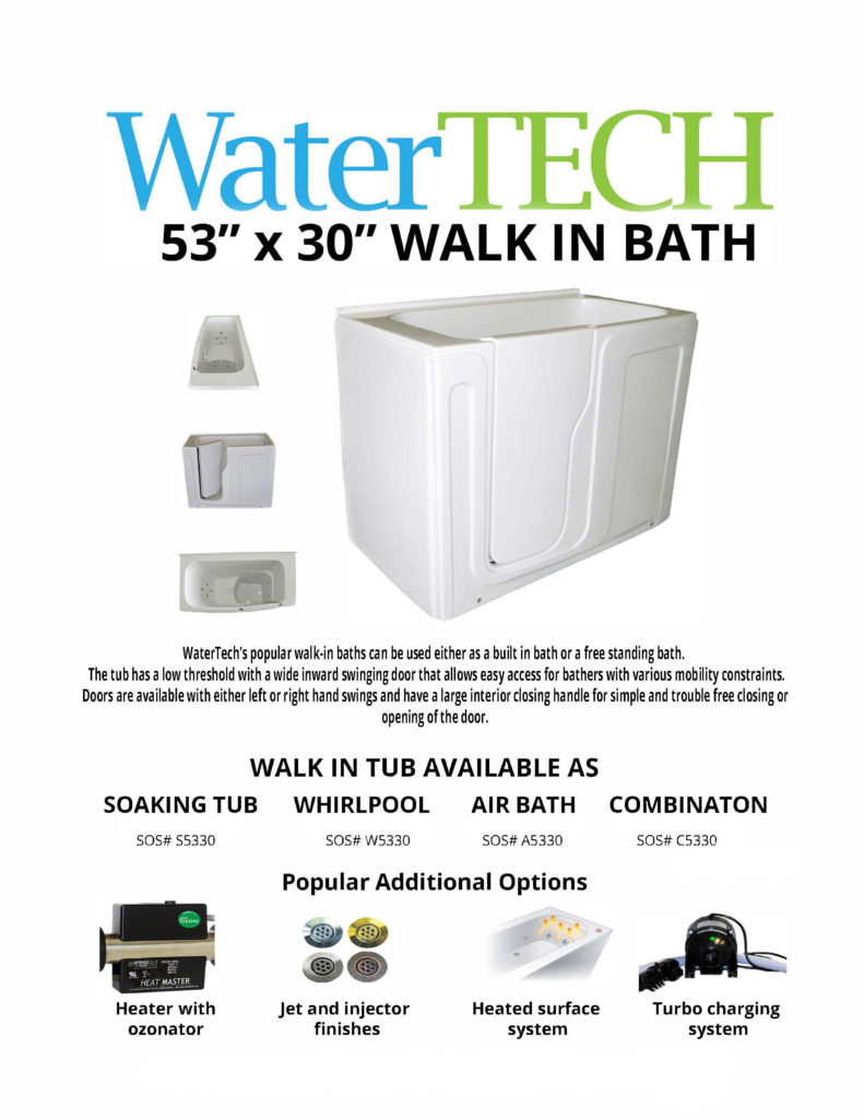 WaterTech Walk-in Bath | Watertech Whirlpools and AirbathsWatertech ...