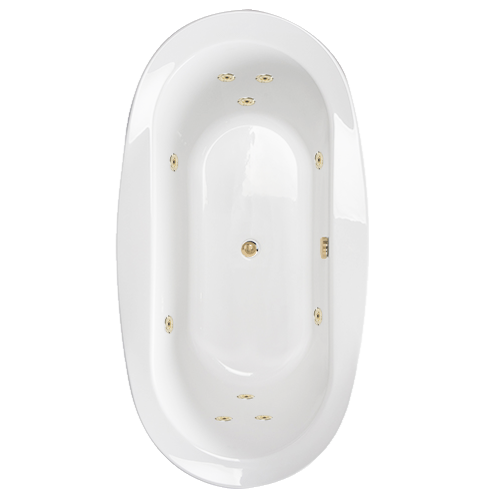Standard Tub Size And Other Important Aspects Of The Bathroom: WaterTech Whirlpool Bathtubs